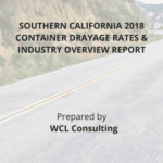 WCL Drayage Report cover with highway image background